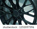close up car mag wheel... | Shutterstock . vector #1252057396