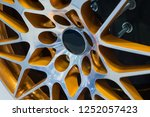 close up car mag wheel... | Shutterstock . vector #1252057423