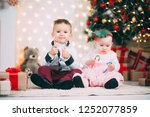 small children near the... | Shutterstock . vector #1252077859