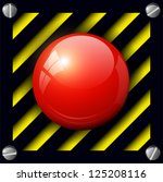 red alarm button background ...