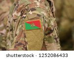 flag of french foreign legion... | Shutterstock . vector #1252086433