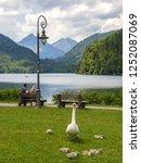 schwangau  bavaria  germany  ... | Shutterstock . vector #1252087069