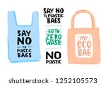 set of eco illustration... | Shutterstock .eps vector #1252105573