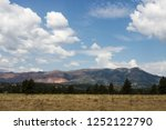 scenic mountains  blue sky with ...   Shutterstock . vector #1252122790