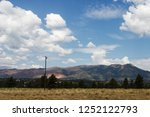 scenic mountains  blue sky with ...   Shutterstock . vector #1252122793