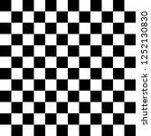 black and white checkered...   Shutterstock .eps vector #1252130830
