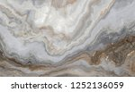 White Marble Pattern With Curl...