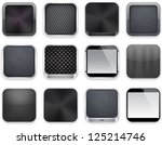 vector illustration of black... | Shutterstock .eps vector #125214746