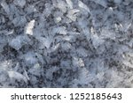 ice crystals on a frosty fall...   Shutterstock . vector #1252185643