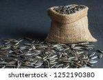 pile  heap of  roasted... | Shutterstock . vector #1252190380
