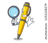 detective pen can be used for... | Shutterstock .eps vector #1252228279