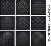 set metal grids. | Shutterstock .eps vector #125224979