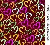 hearts   Shutterstock .eps vector #125225339