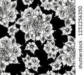 abstract elegance seamless... | Shutterstock .eps vector #1252256350