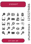 vector icons pack of 25 filled... | Shutterstock .eps vector #1252274686