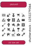 vector icons pack of 25 filled...   Shutterstock .eps vector #1252279366