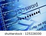 program code and computer... | Shutterstock . vector #125228330