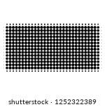 filled rectangle halftone... | Shutterstock .eps vector #1252322389
