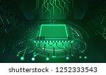 processor of the future.... | Shutterstock . vector #1252333543