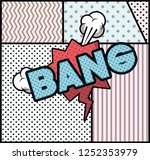 expression bubble with bang pop ... | Shutterstock .eps vector #1252353979