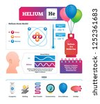 helium vector illustration.... | Shutterstock .eps vector #1252361683