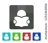 manual   app icon | Shutterstock .eps vector #1252363006