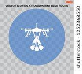 flower icon vector flat design... | Shutterstock .eps vector #1252368550