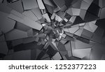abstract 3d rendering of... | Shutterstock . vector #1252377223