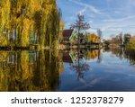 zaanse schans  netherlands  ... | Shutterstock . vector #1252378279