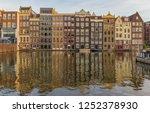 amsterdam  netherlands  ... | Shutterstock . vector #1252378930