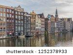 amsterdam  netherlands  ... | Shutterstock . vector #1252378933