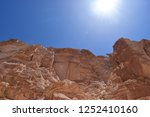 the colored canyons in sinai... | Shutterstock . vector #1252410160