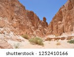 the colored canyons in sinai... | Shutterstock . vector #1252410166