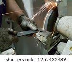 metal worker industrial... | Shutterstock . vector #1252432489