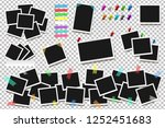set of realistic square frames  ... | Shutterstock .eps vector #1252451683