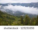 mountain landscape. russia ... | Shutterstock . vector #125253350