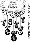 easter card. vector illustration