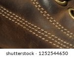 part of the boot made of thick... | Shutterstock . vector #1252544650