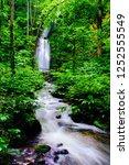 "tourist attraction ""oirase... | Shutterstock . vector #1252555549"