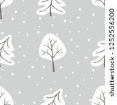 merry christmas new year... | Shutterstock .eps vector #1252556200