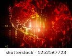 2d illustration abstract... | Shutterstock . vector #1252567723