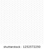 grid with dots. paper seamless... | Shutterstock . vector #1252572250