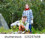adult man and woman in the... | Shutterstock . vector #125257658