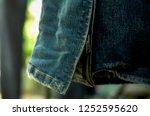 cuff  jeans zipper | Shutterstock . vector #1252595620