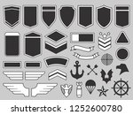 military patches. army soldier... | Shutterstock .eps vector #1252600780
