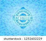bachelor realistic sky blue... | Shutterstock .eps vector #1252602229