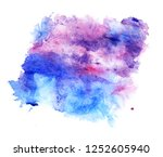 cosmic background. colorful... | Shutterstock . vector #1252605940
