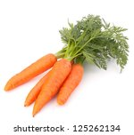 Carrot Vegetable With Leaves...
