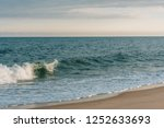 Waves in the Atlantic Ocean, at Hither Hills State Park, Montauk, New York