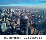 beautiful panoramic aerial... | Shutterstock . vector #1252669363